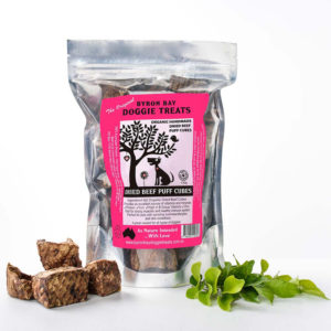 Button for Organic Dried Beef Puff Cubes Pack
