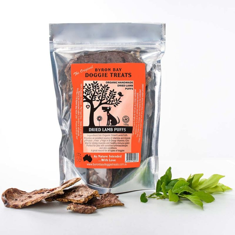 Button for Organic Dried Lamb Puffs Pack