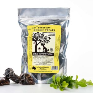 Button for Organic Dried Roo Puff Cubes Pack